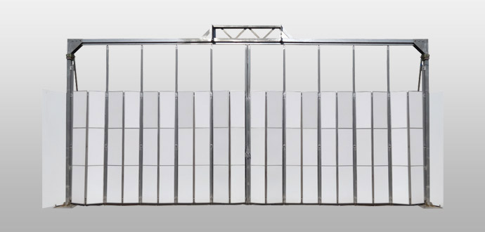 門型ゲート(柱付きタイプ)