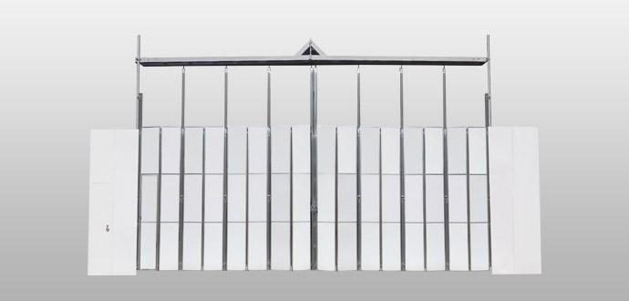 門型ゲート(柱なしタイプ)